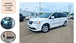 Used 2014 Dodge Grand Caravan Crew SUNROOF P SLIDING/ GATE  LEATHER STOW&GO SAFE for sale in Oakville, ON
