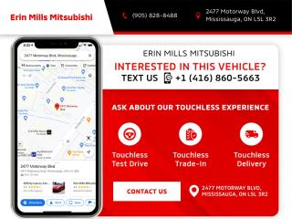 New 2022 Mitsubishi Mirage SE - CVT for sale in Mississauga, ON
