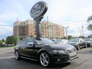 Used 2010 Audi S4 4dr Sdn Man for sale in Burlington, ON