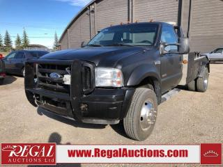 Used 2006 Ford F-550 XL for sale in Calgary, AB