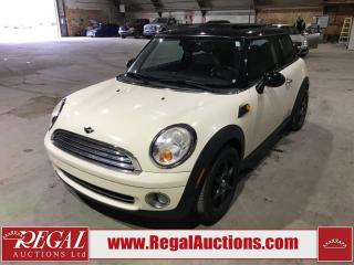 Used 2007 MINI Cooper Base 2D Hatchback for sale in Calgary, AB