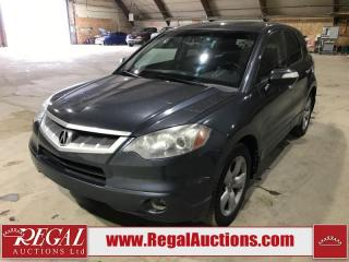 Used 2007 Acura RDX SH 4D Utility AWD for sale in Calgary, AB