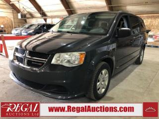Used 2012 Dodge Grand Caravan SE Wagon FWD for sale in Calgary, AB