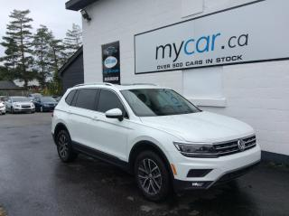 Used 2018 Volkswagen Tiguan Highline SUNROOF. NAV. LEATHER. ALLOYS. HEATED SEATS!! for sale in Richmond, ON