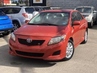 Used 2010 Toyota Corolla S for sale in Saskatoon, SK