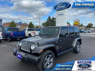 Used 2017 Jeep Wrangler Unlimited Sahara  - $281 B/W for sale in Sturgeon Falls, ON