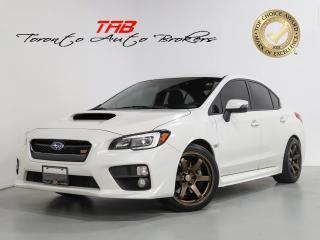 Used 2017 Subaru WRX STI LIMITED I 6-SPEED I SUNROOF I CLEAN CARFAX for sale in Vaughan, ON