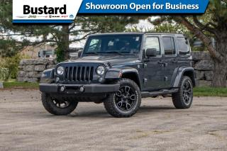 Used 2018 Jeep Wrangler JK Unlimited SAHARA | NAV | LEATHER for sale in Waterloo, ON