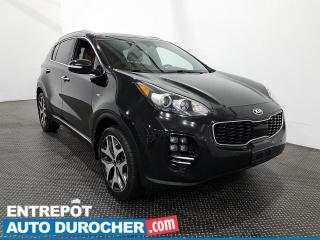 Used 2017 Kia Sportage SX TURBO AWD Cuir- Toit panoramique- Navigation for sale in Laval, QC