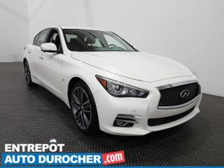 Used 2015 Infiniti Q50 Sport AWD Cuir- Toit ouvrant- Navigation for sale in Laval, QC