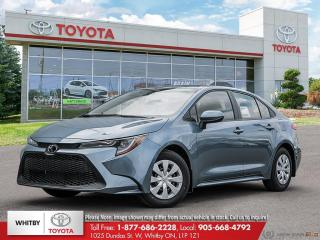 New 2022 Toyota Corolla L CVT for sale in Whitby, ON