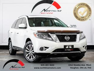 Used 2014 Nissan Pathfinder 4WD 4dr S/ PANO SUNROOF/SUNROOF/BACKUP CAM/ 7 SEAT for sale in Vaughan, ON