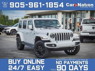 Used 2021 Jeep Wrangler Unlimited High Altitude 4x4| BRAND NEW| DUAL TOP| for sale in Burlington, ON