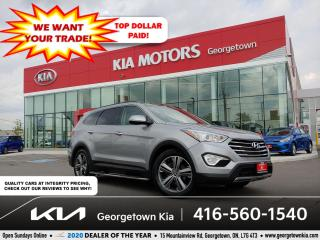 Used 2015 Hyundai Santa Fe XL LIMITED | CLN CRFX | 7 PASS | NAV | PANO ROOF | for sale in Georgetown, ON