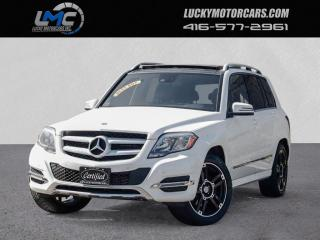 Used 2014 Mercedes-Benz GLK-Class 4MATIC GLK250 BLUE TEC DIESEL-PANOROOF-LOADED-80KMS for sale in Toronto, ON