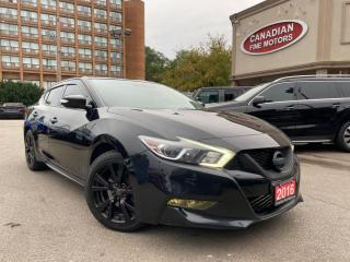 Used 2016 Nissan Maxima LEATHER   NAVI    CAM   SMART DEVICE INTERGARION   for sale in Scarborough, ON