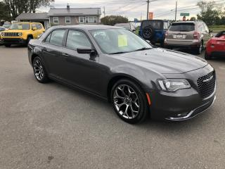 Used 2017 Chrysler 300 S, Excellent shape, V6 RWD for sale in Truro, NS