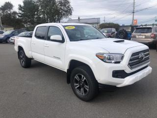 Used 2017 Toyota Tacoma SR5 Double Cab Super Long Bed V6 6AT 4WD for sale in Truro, NS