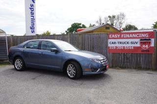 Used 2011 Ford Fusion SEL leather heated seats, 2.5 L 4 Cyl,fuel efficient engine for sale in Brantford, ON