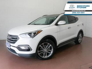 Used 2017 Hyundai Santa Fe Sport 1 OWNER | SUNROOF | HEATED SEATS | BACK UP CAM  - $131 B/W for sale in Brantford, ON