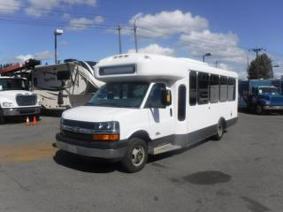 Used 2013 Chevrolet Express G4500 17 Passenger Bus Diesel Wheelchair Access for sale in Burnaby, BC