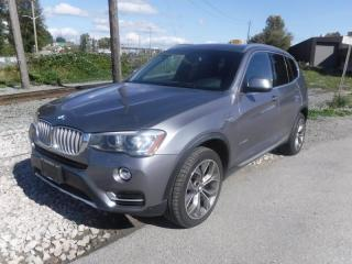 Used 2015 BMW X3 xDrive28i for sale in Burnaby, BC
