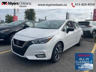New 2021 Nissan Versa SR  -  SR Badging -  Android Auto - $157 B/W for sale in Orleans, ON