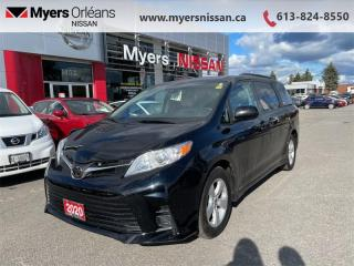 Used 2020 Toyota Sienna LE  - Heated Seats - $267 B/W for sale in Orleans, ON