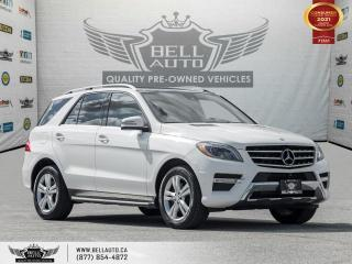Used 2015 Mercedes-Benz ML-Class ML 350 BlueTEC, AWD, Navi, 360cam, Pano, B.spot for sale in Toronto, ON