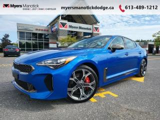 Used 2018 Kia Stinger GT  - Leather Seats -  Heated Seats - $272 B/W for sale in Ottawa, ON