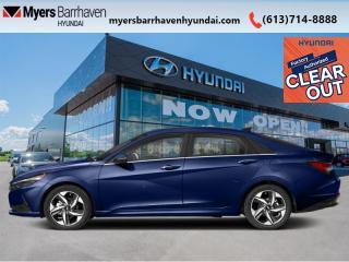 New 2022 Hyundai Elantra Hybrid Preferred DCT  - Sunroof - $168 B/W for sale in Nepean, ON