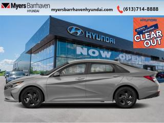 New 2022 Hyundai Elantra Essential  - Android Auto - $128 B/W for sale in Nepean, ON