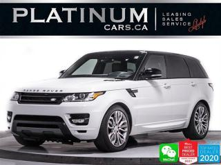 Used 2016 Land Rover Range Rover Sport Supercharged Dynamic,510HP,HUD,PANORAMIC ROOF,NAVI for sale in Toronto, ON