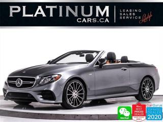 Used 2019 Mercedes-Benz E-Class AMG E53 4MATIC, AWD, DISTRONIC PLUS, MASSAGE, HUD for sale in Toronto, ON