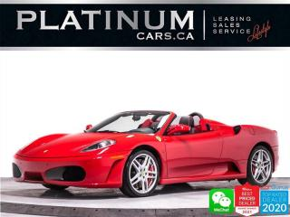 Used 2008 Ferrari F430 Spider, 4.3L V8 483HP ,BREMBO BRAKES for sale in Toronto, ON