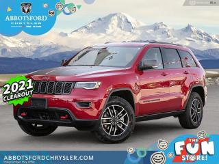 New 2021 Jeep Grand Cherokee Trailhawk  - Leather Seats - $521 B/W for sale in Abbotsford, BC