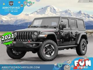 New 2021 Jeep Wrangler Rubicon Unlimited  - Leather Seats - $500 B/W for sale in Abbotsford, BC