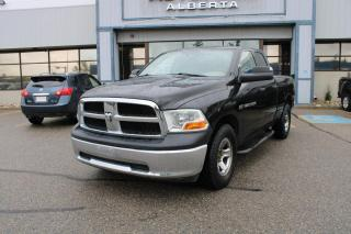 Used 2012 RAM 1500 ST Quad Cab 4WD for sale in Calgary, AB