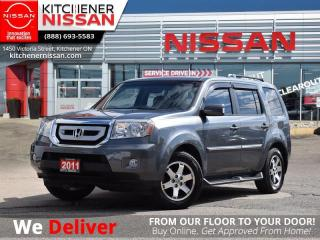 Used 2011 Honda Pilot Touring   - CLEAN CARFAX | LOW KM | NAVIGATION for sale in Kitchener, ON