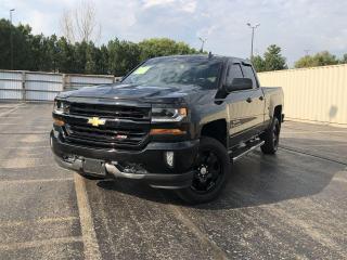 Used 2018 Chevrolet Silverado 1500 LT TRUE NORTH DOUBLE CAB 4WD for sale in Cayuga, ON