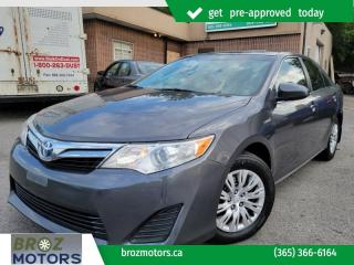Used 2014 Toyota Camry HYBRID 4dr Sdn LE for sale in St. Catharines, ON