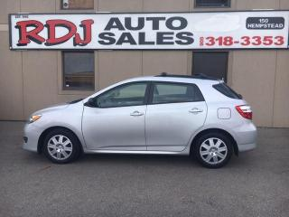 Used 2012 Toyota Matrix HATCHBACK,ACCIDENT FREE for sale in Hamilton, ON