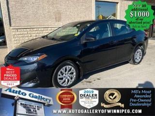 Used 2017 Toyota Corolla LE* Heated Seats/Bluetooth/Reverse Camera for sale in Winnipeg, MB
