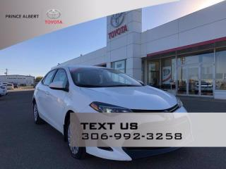 Used 2017 Toyota Corolla LE for sale in Prince Albert, SK