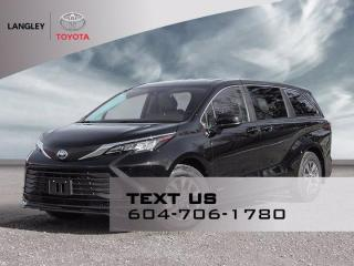 New 2021 Toyota Sienna LE for sale in Langley, BC