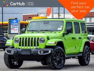 New 2021 Jeep Wrangler 4xe Unlimited Sahara 4x4 Hard Top Navigation Leather Blind Spot Heated Front Seats Remote Start 20