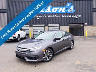 Used 2018 Honda Civic Sedan SE, Reverse Camera, Heated Seats, Lane Departure Warning, Cruise Control, Keyless Entry & More! for sale in Guelph, ON
