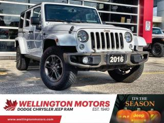 Used 2016 Jeep Wrangler Unlimited 75th Anniversary for sale in Guelph, ON