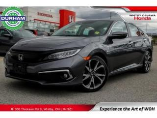 Used 2019 Honda Civic TOURING NAVIGATION LEATHER SUNROOF BACKUP CAMERA for sale in Whitby, ON