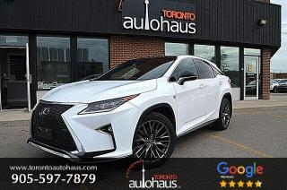 Used 2018 Lexus RX 350 F SPORT 3 I PANO I NAVI I RED LEATHER for sale in Concord, ON